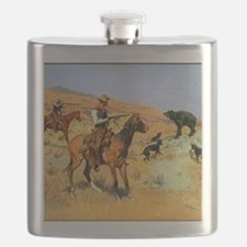 His Last Stand, c Flask