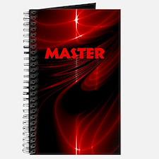 bondage black and red Master Journal