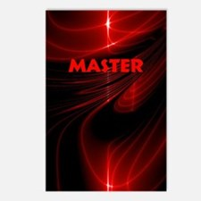 bondage black and red Mas Postcards (Package of 8)