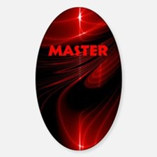 bondage black and red Master Bumper Stickers