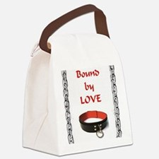 bondage bound by love Canvas Lunch Bag