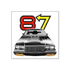 "NEW 87 GRND Nat copy Square Sticker 3"" x 3"""