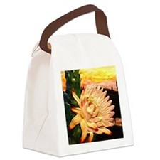 cactusflower Canvas Lunch Bag