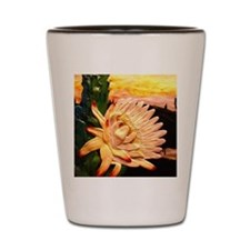 cactusflower Shot Glass
