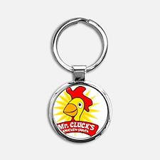 chickenshack Round Keychain