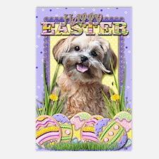 EasterEggCookiesShihPoo Postcards (Package of 8)