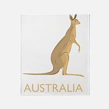 australia19Bk Throw Blanket