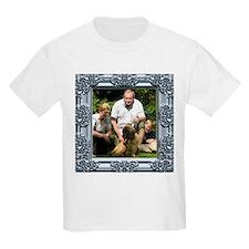 Custom silver baroque framed photo T-Shirt
