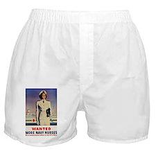 Navy Nurse Boxer Shorts