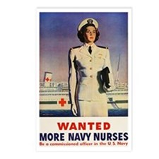 Navy Nurse Postcards (Package of 8)