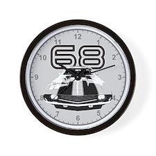 1968 Camaro Clock Wall Clock