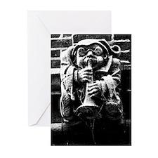 Gargoyle Gnome Greeting Cards (Pk of 10)