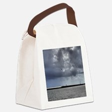 5.25X5.25-Birds-Seagull-Against-S Canvas Lunch Bag
