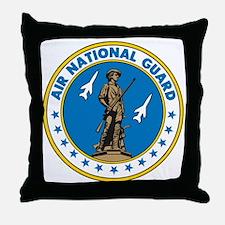 Air Guard-Seal-full Throw Pillow