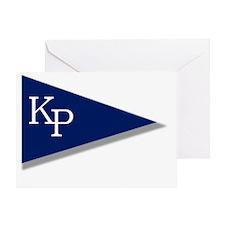 KP Birgie (Black Background) Greeting Card