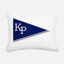 KP Birgie (Black Backgro Rectangular Canvas Pillow