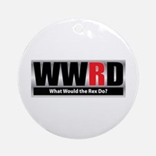 What Rex Ornament (Round)