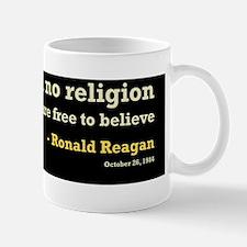 Reagan Establish No Religion 10x3 Mug