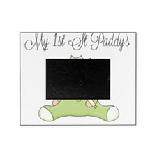 my first st patricks day baby girl Picture Frame