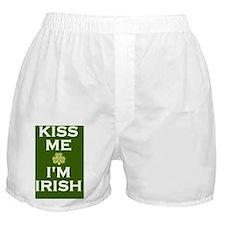 Green Im Irish Boxer Shorts