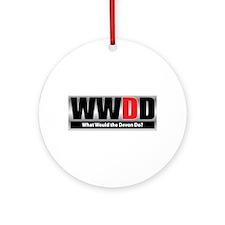 What Devon Ornament (Round)