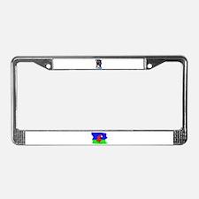 BOXER FACE License Plate Frame