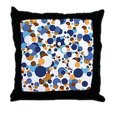 Dots Galore Throw Pillow