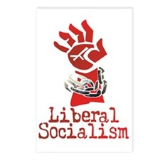 Liberal Socialism Postcards (Package of 8)