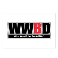 What Bobtail Postcards (Package of 8)