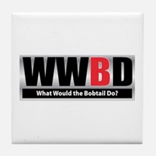 What Bobtail Tile Coaster