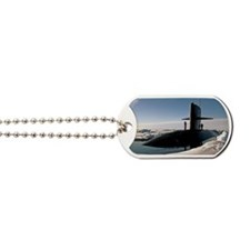 queenfish large framed print Dog Tags