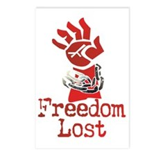 Freedom Lost Postcards (Package of 8)