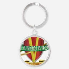 Vanguard Key Clubs Color Logo Round Keychain