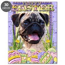 EasterEggCookiesPug Puzzle