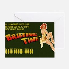 bomberbag Greeting Card