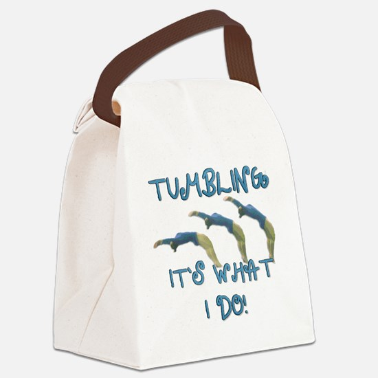 TUMBLING Canvas Lunch Bag
