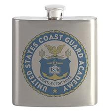 USCGA Logo Flask