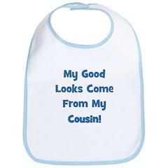 Good Looks from Cousin! - Blu Bib