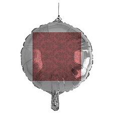 Red Damask Balloon