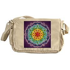 CrownMandalaClock Messenger Bag
