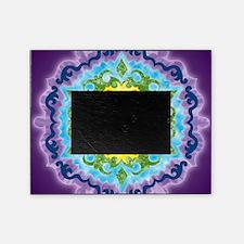 CrownMandalaClock Picture Frame