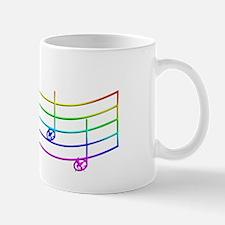 Rues Whistle Round Rainbow Mug