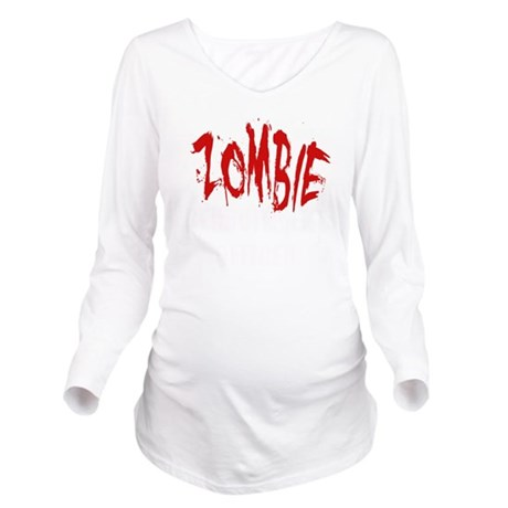 ZOMBIE RECRUITMENT O Long Sleeve Maternity T-Shirt