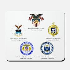 Service Academy Logo Mousepad