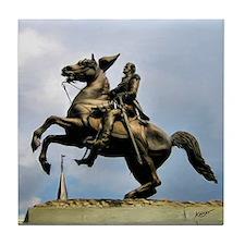 Andrew Jackson Statue - Tile Coaster