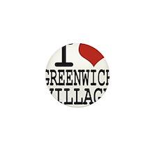 I love Greenwich Village Mini Button