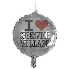 I love Greenwich Village Balloon