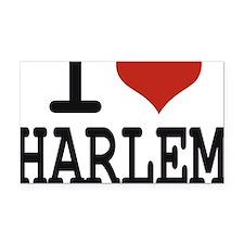 I love Harlem Rectangle Car Magnet