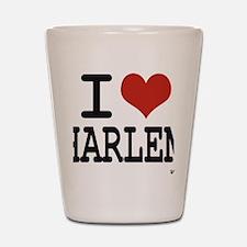 I love Harlem Shot Glass