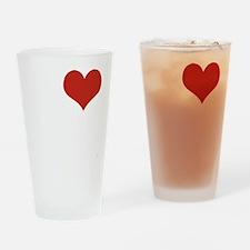 I love Harlem Drinking Glass